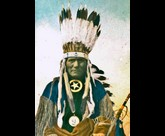 Ponca Little Soldier war bonnet