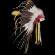 Plains style Feather War Bonnet 2869.19.01 (photo 1) ☩ «4 Colors»™