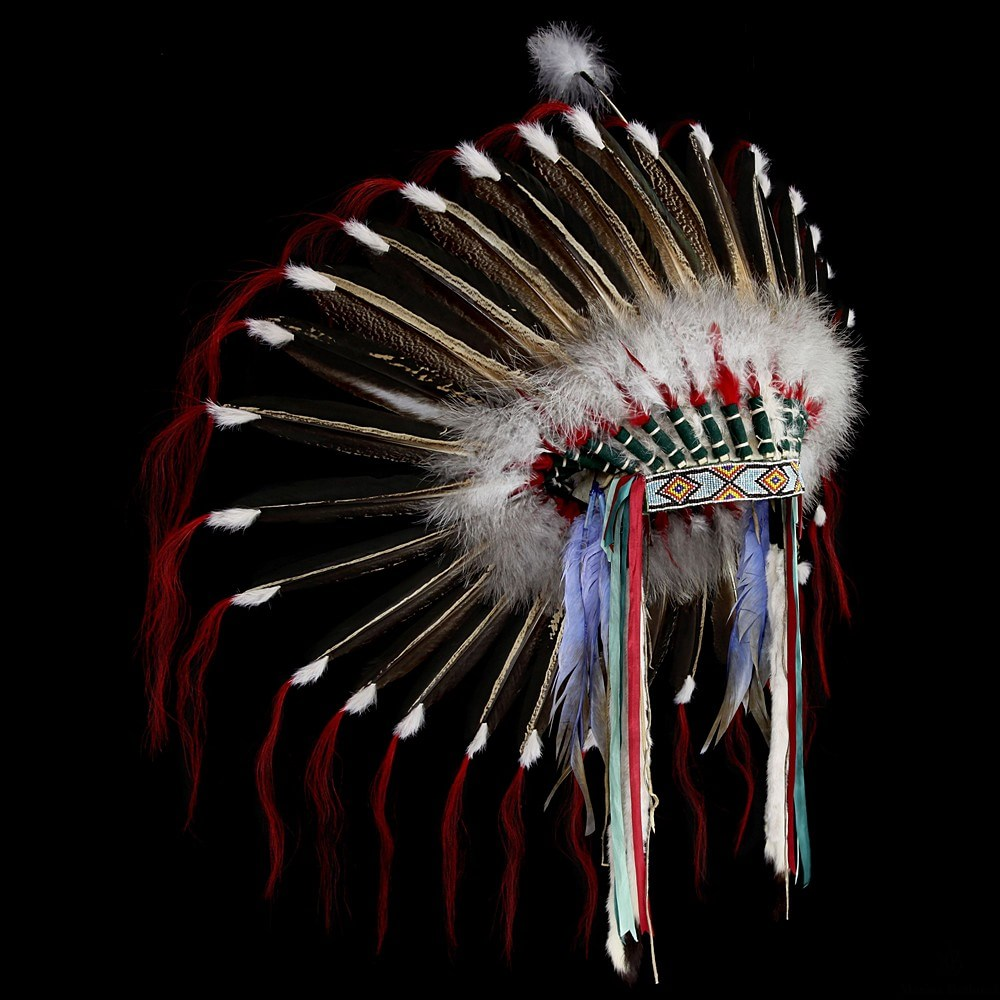 [*longtitle:ifempty=`Plains Feather War Bonnet (replica)