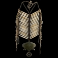 Central Plains Breastplate with Gorget (replica) 4023.08.01 (photo 1) ☩ «4 Colors»™